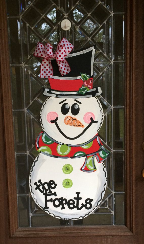 25+ Best Ideas about Snowman Door on Pinterest