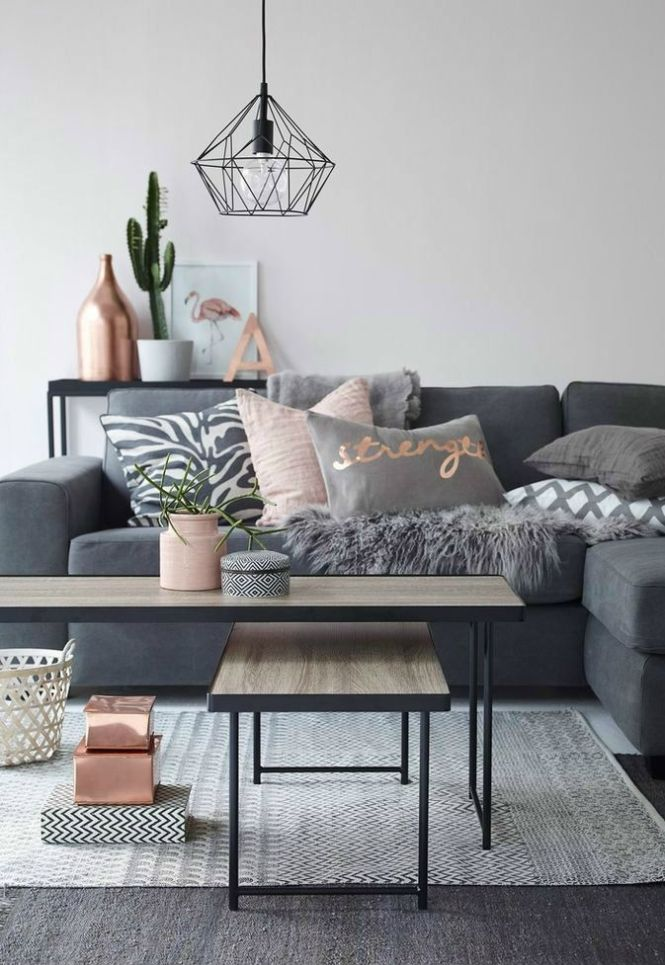 The Best Grey Decor Ideas And Inspiration For Your Home Rose Gold Room