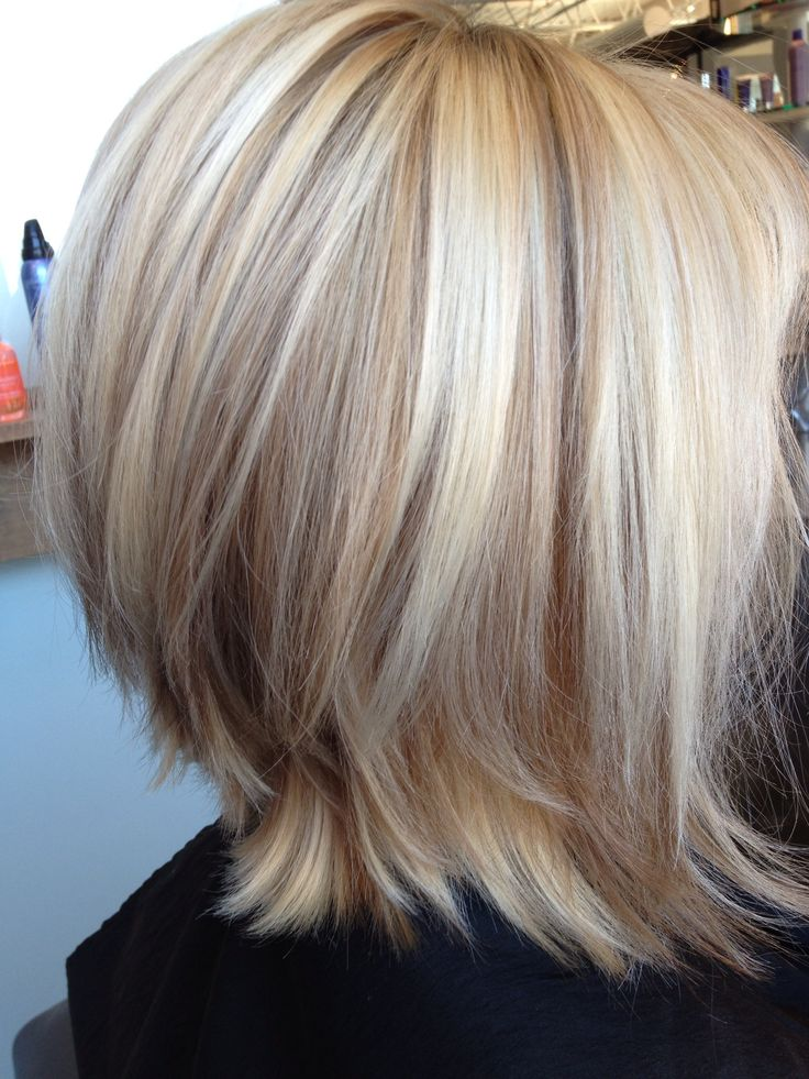 blonde bob with lowlights  Style  Pinterest  Bobs