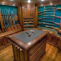 1000+ ideas about Wood Gun Cabinet on Pinterest | Gun ...