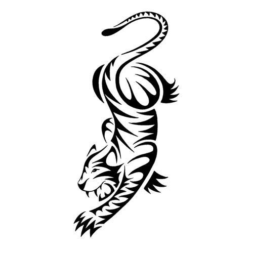 17 Best Ideas About Tribal Tiger Tattoo On Pinterest