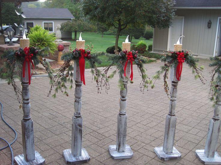 Best 10+ Outdoor Christmas Decorations Ideas On Pinterest