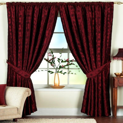 25 Best Ideas About Burgundy Curtains On Pinterest White