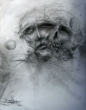 dark pencil drawings drawing sketches scary surreal horror depression death deviantart easy charcoal creepy paintingvalley pixgood