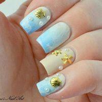 45 Ocean Nail Art Ideas | Nail art ideas, Best nails and ...