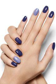 ideas blue nails