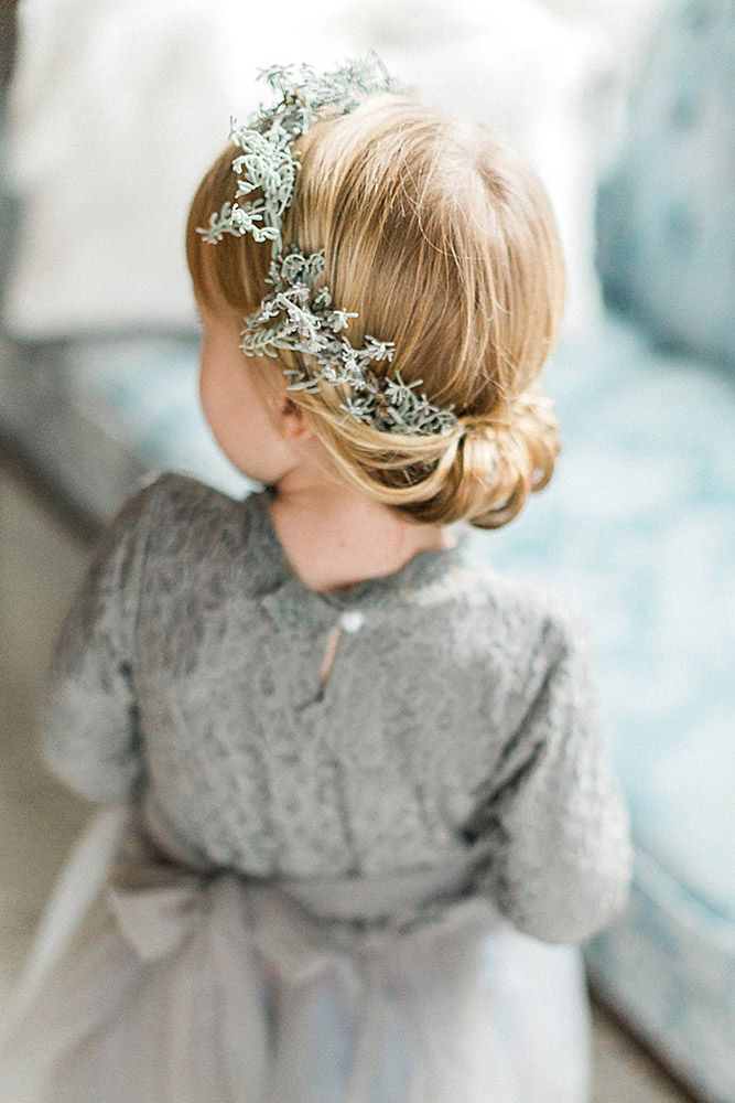 25 best ideas about Flower girl hairstyles on Pinterest  Communion hairstyles Hairstyles for