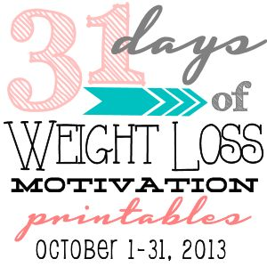 31 Days of Weight Loss Motivation p