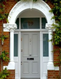 17 Best images about Front door surrounds on Pinterest
