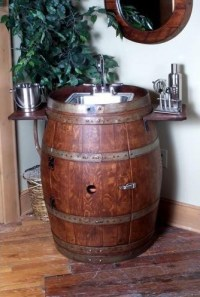 Wine Barrel Cabinet Plans
