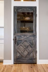 Antique farmhouse door repurposed as a pantry door - by ...
