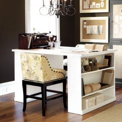 Double Sided Desk