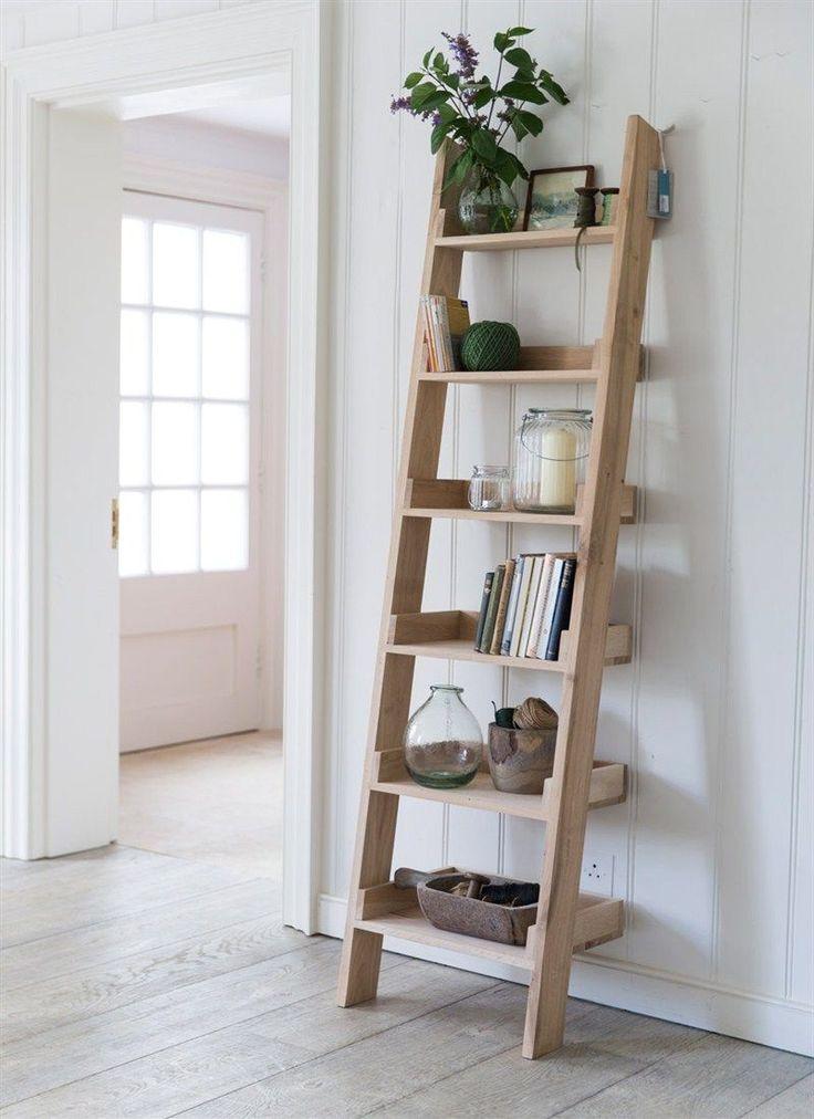 25 Best Ideas about Ladder Shelves on Pinterest  Leaning