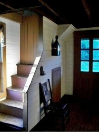 """Could """"partially"""" open our stair way. 