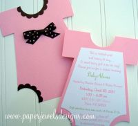 160 best images about Homemade baby shower invitation on