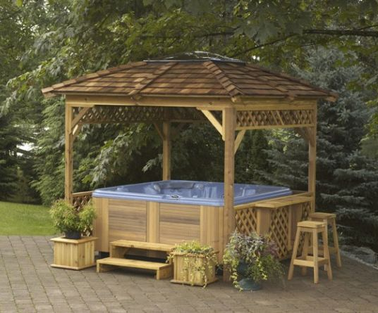 25 Best Ideas About Hot Tub Gazebo On Pinterest Hot Tub Garden