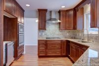 under cabinet molding kitchen cabinets | upgraded cabinets ...