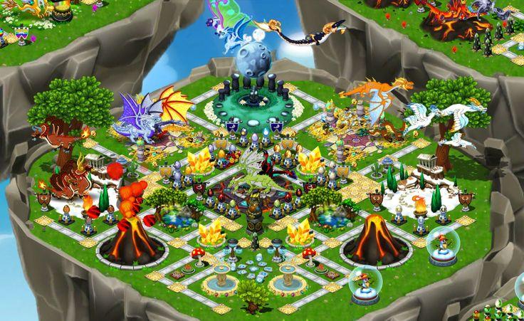 All Dragon Dragon City Game Facebook Dragon City Dragon Chart