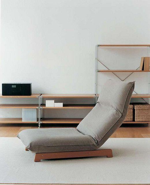 Muji floor chair  SofasSeating  Pinterest  Chairs