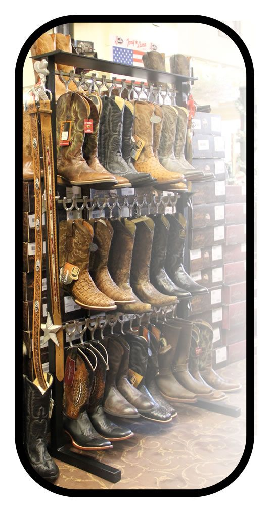 Ask Your Favorite Western Store To Check Out Our Web Site