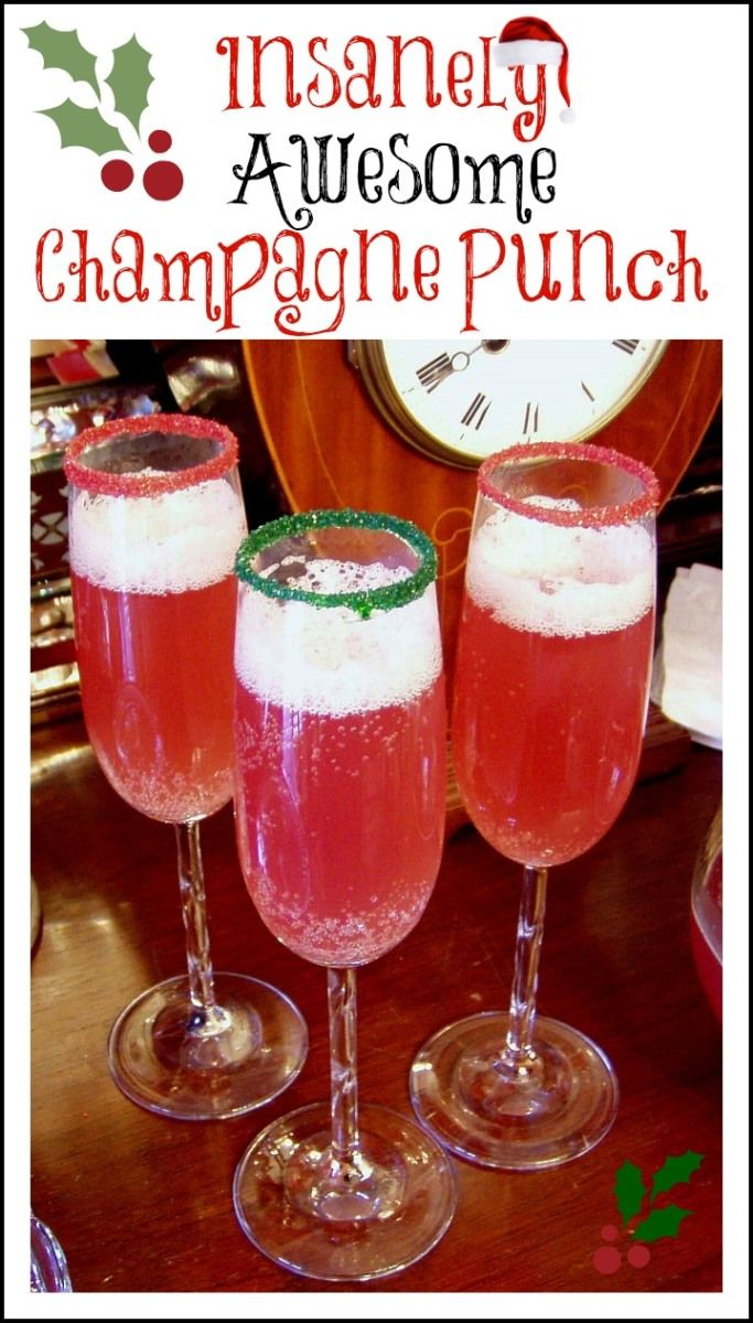 Insanely Awesome Champagne Punch 2 – between nap s on the porch