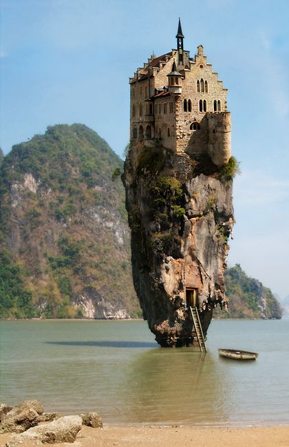 Castle House Island in Dublin, Ireland – gotta see this place!