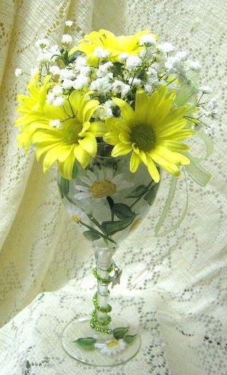 1000 Images About Glass Flower Arrangements On Pinterest