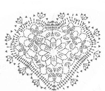 236 best images about Häkeln Herz Crochet Heart on