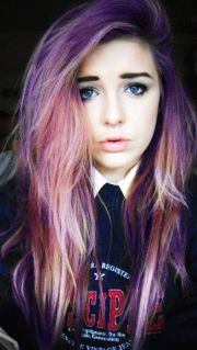 colored hair multi color