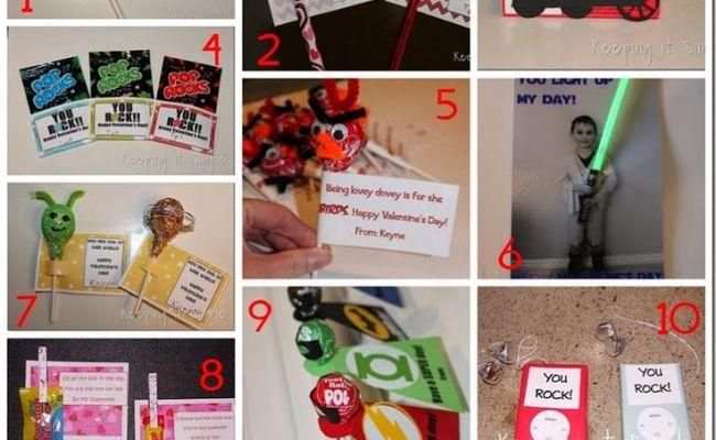 10 Handmade Valentine Ideas For Boys Valentine Day Cards