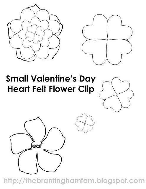 285 best images about Molde de flores on Pinterest
