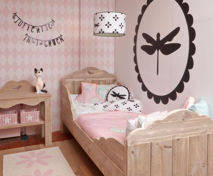 17 beste ideen over Meisjes Slaapkamer Behang op