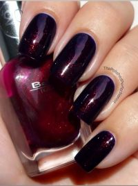 Pretty dark red Nail polish | make over | Pinterest | Dark ...