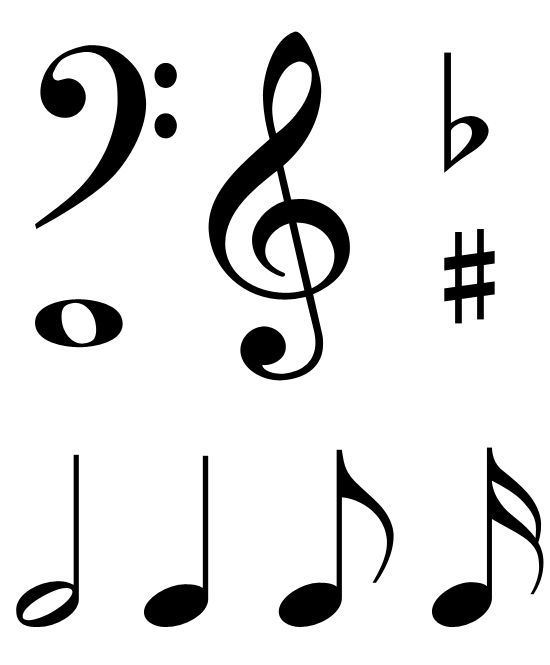 ideas music notes