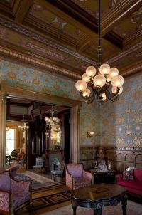 The McDonald Mansion's Gentlemen's Parlor. The large-scale ...