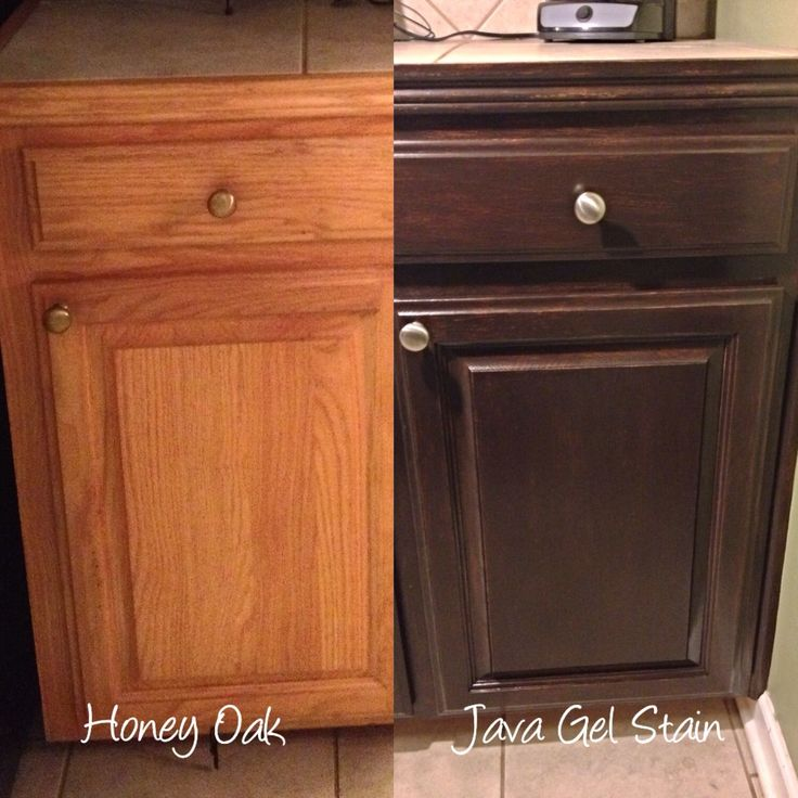 sanding and restaining kitchen cabinets small dishwashers for kitchens i'm refinishing my honey oak with general ...