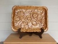 Decorative Tray Flowers/Serving Tray Wood/Coffee Table ...