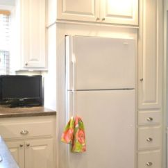 Tiny Kitchen Remodel Diy Cabinet 25+ Best Ideas About Refrigerator On Pinterest ...