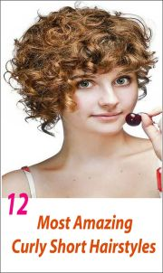 amazing curly short hairstyles