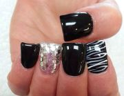wide tip nails ideas