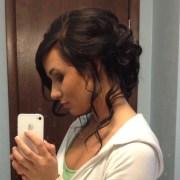 prom hair love loose side