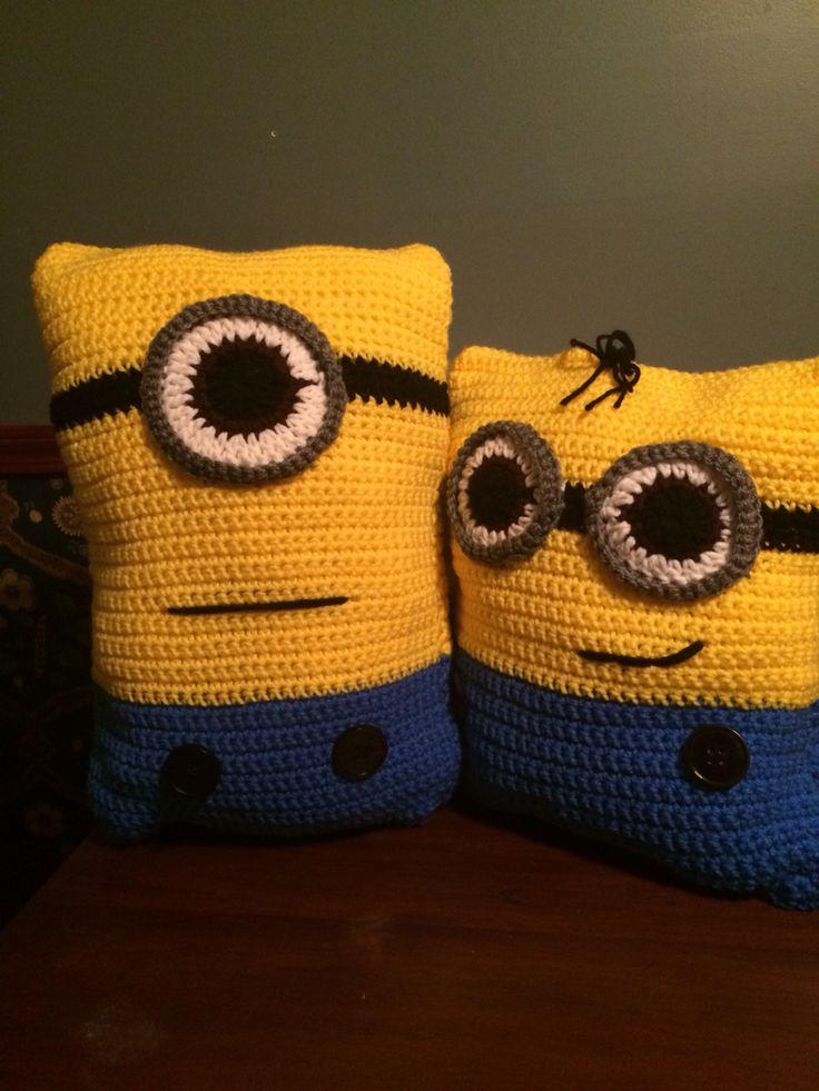 25 best ideas about Minion Pillow on Pinterest  Crochet