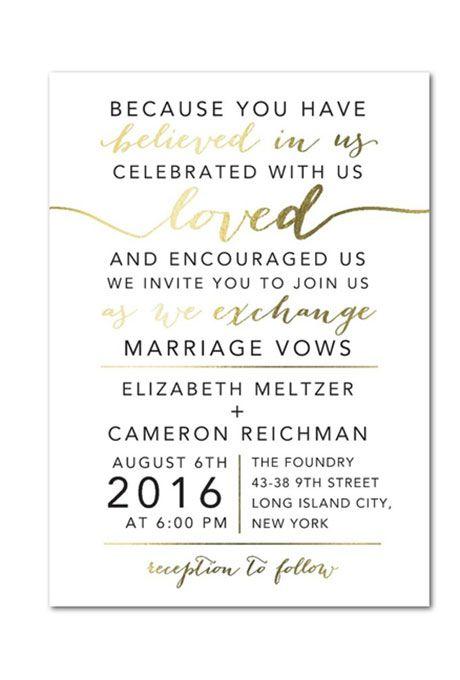 Wedding Invitation Verses