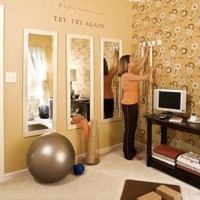 Cheap Wal-Mart mirrors in multiples | Workout Room ...