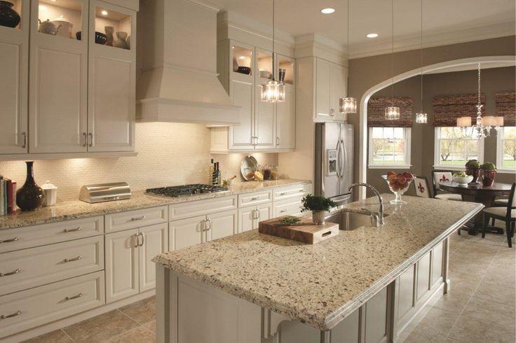 Crema Caramel Granite Countertops With Backsplash Google Search House Ideas Pinterest