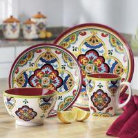16-Piece Medallion Dinnerware Set from Seventh Avenue ...