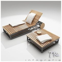 Chair Cba Steel Round Back Covers For Sale Maya Sunbed Teak - And Table... By Trainfografia | Furniture Decor Pinterest ...