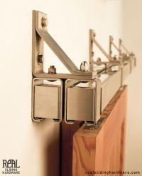 25+ best ideas about Bypass barn door hardware on Pinterest