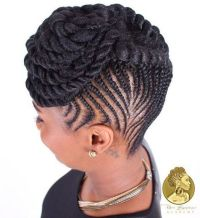 17 best ideas about Cornrows Updo on Pinterest | African ...