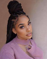 25+ best ideas about Thick box braids on Pinterest   Black ...